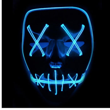 Masque d'halloween LED - shop le vite