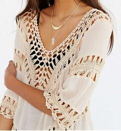 Top été au crochet en Lin🌞 - shop le vite