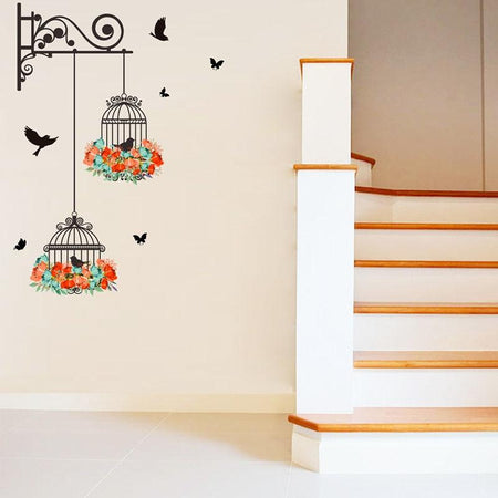 Auto-collant DECO Stickers mural BIRD oiseau décoration maison 🐦 - shop le vite