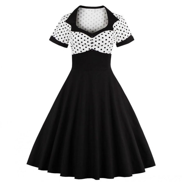 "Robe rétro 1950 s 60s ""PIN-UP"" - shop le vite"
