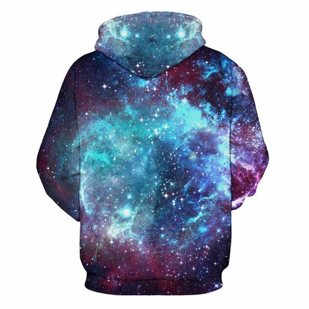 Sweat à capuche IMPRIME 3D UNIVERS - shop le vite