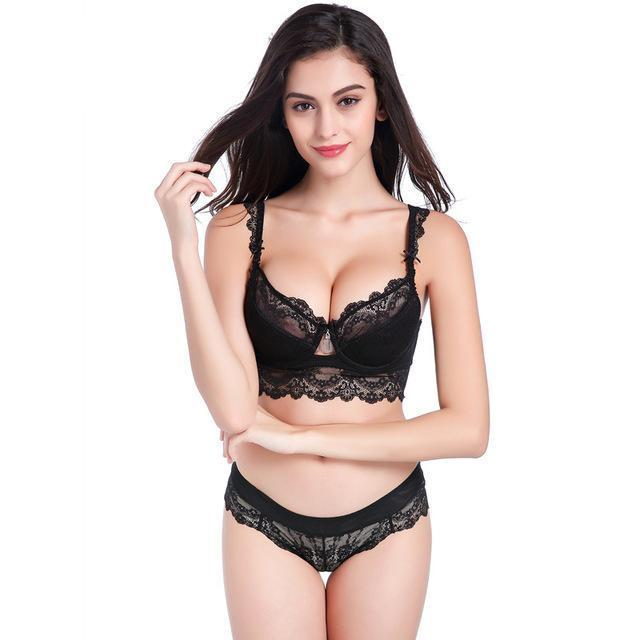 Ensemble Lingerie Soutien gorge Push-up - shop le vite