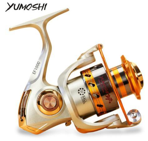 Yumoshi EF1000-7000 12BB 5.2:1 heavy metal