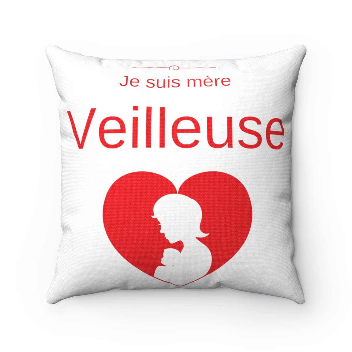 Spun Polyester Square Pillow - shop le vite