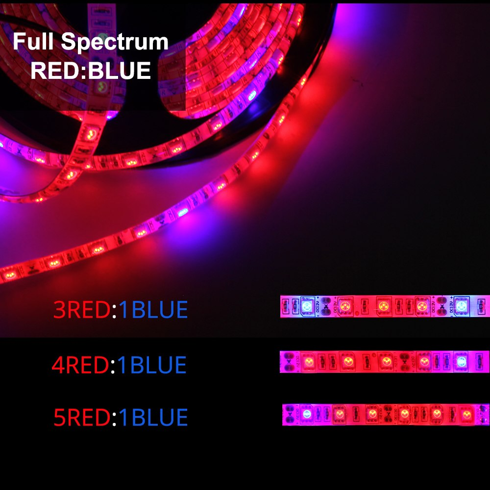 5M (5Red1Blue) LED Full Spectrum Grow Strip