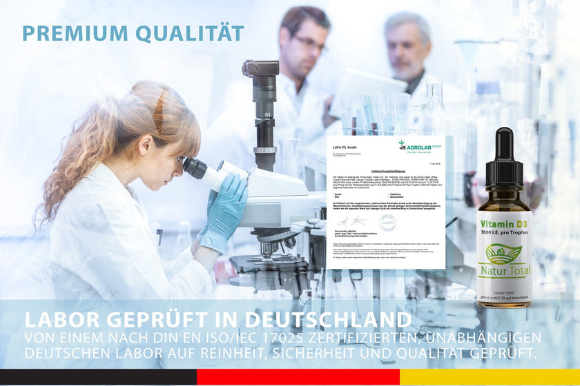 Laborgetest in Deutschland