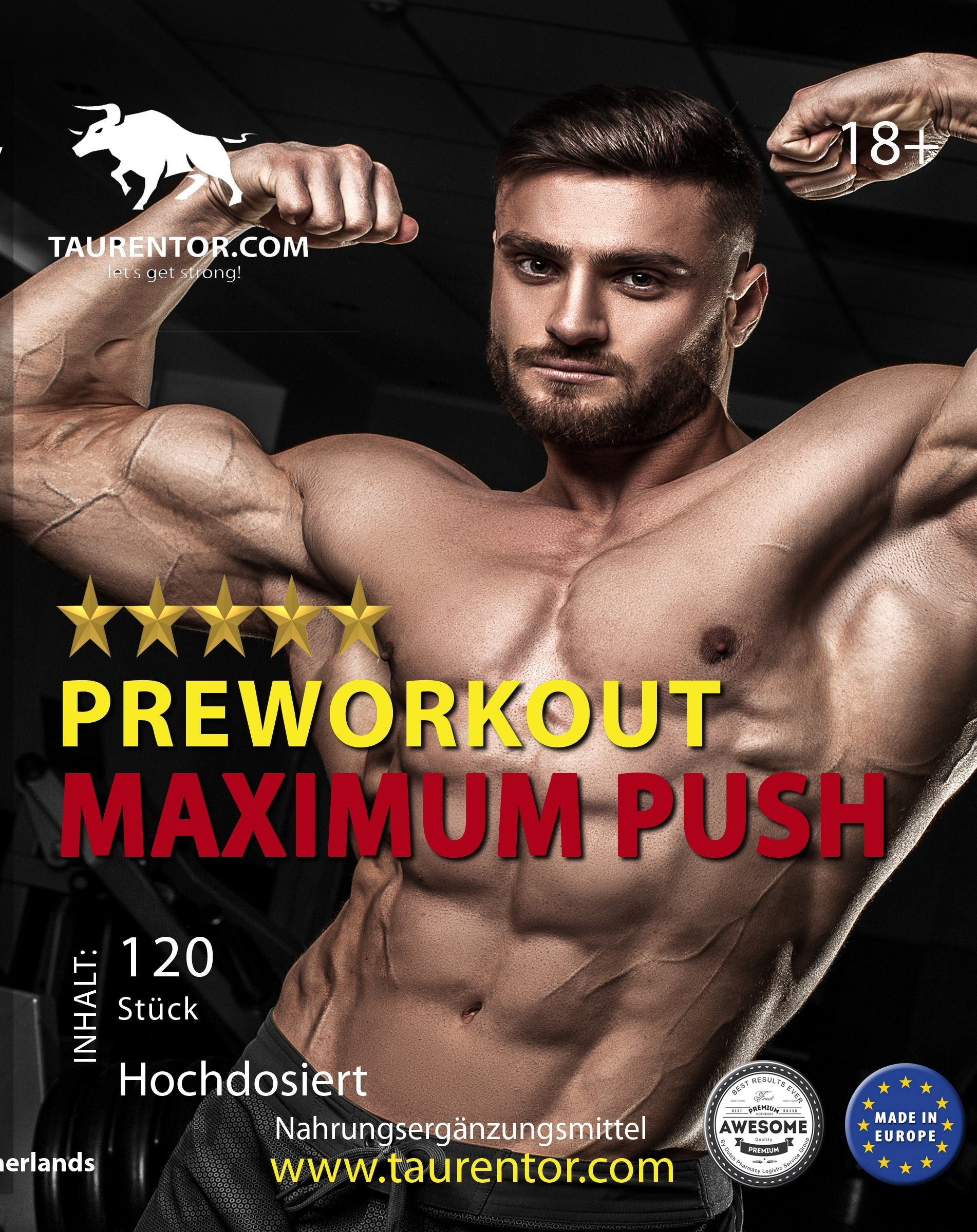 Taurentor Maximum Push - Naturtotalshop.com