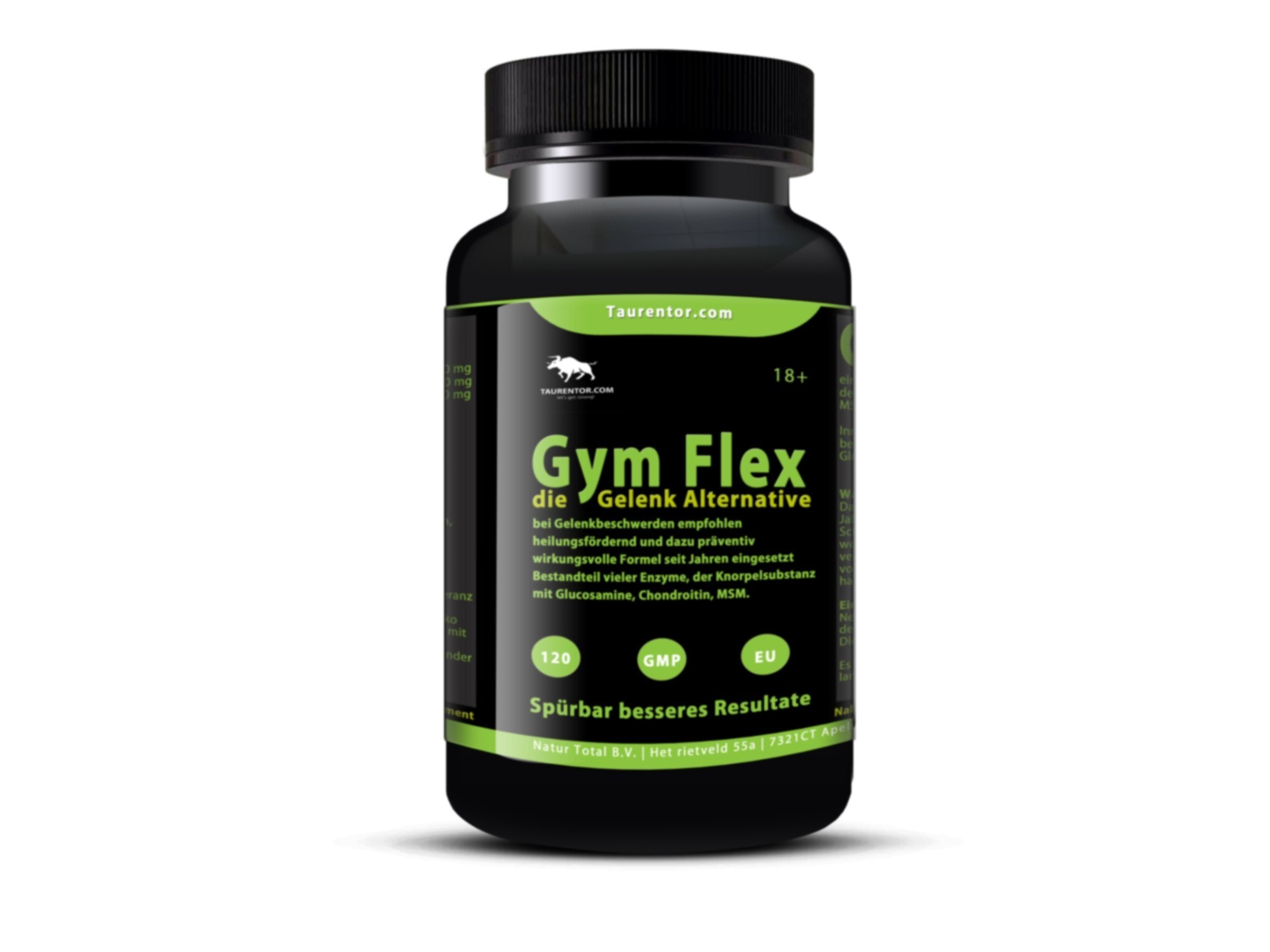 Gym Flex Flex Pro 120 Tabletten die Gelenk Alternative - Naturtotalshop.com