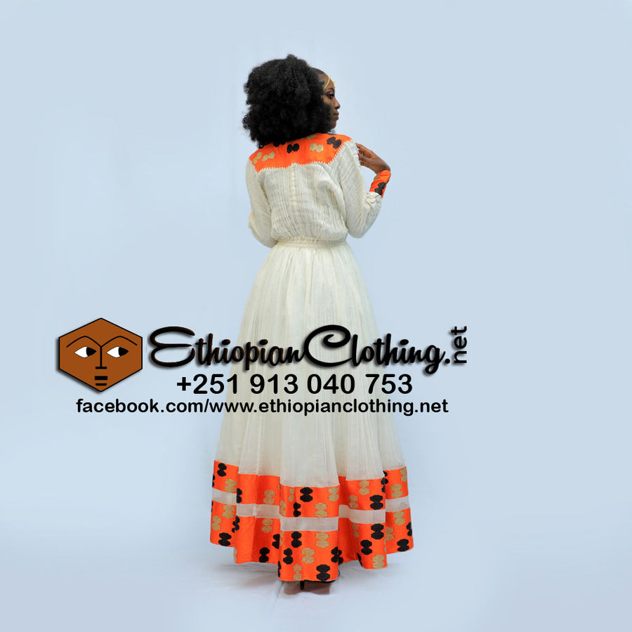 Tiringo Ethiopian Dress - EthiopianClothing.Net