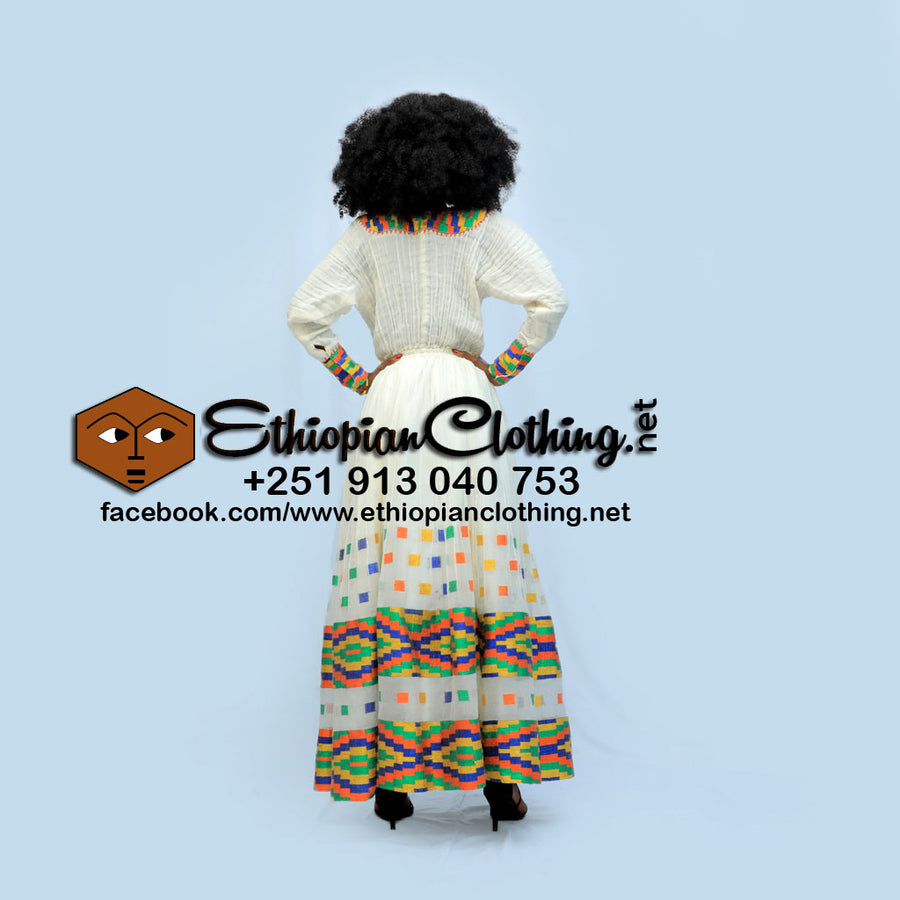 Jenber Ethiopian Dress - EthiopianClothing.Net