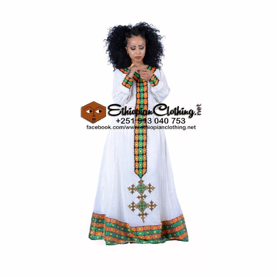 Afro Habesha Dress XXL Ethiopian cultural dress Ethiopian traditional dress Habesha dress