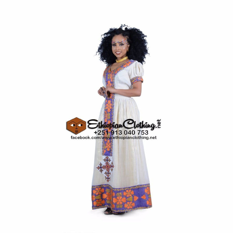 Agaro Habesha Dress XXL Eritrean dresses Ethiopian cultural dress Ethiopian fashion dress Habesha Libs