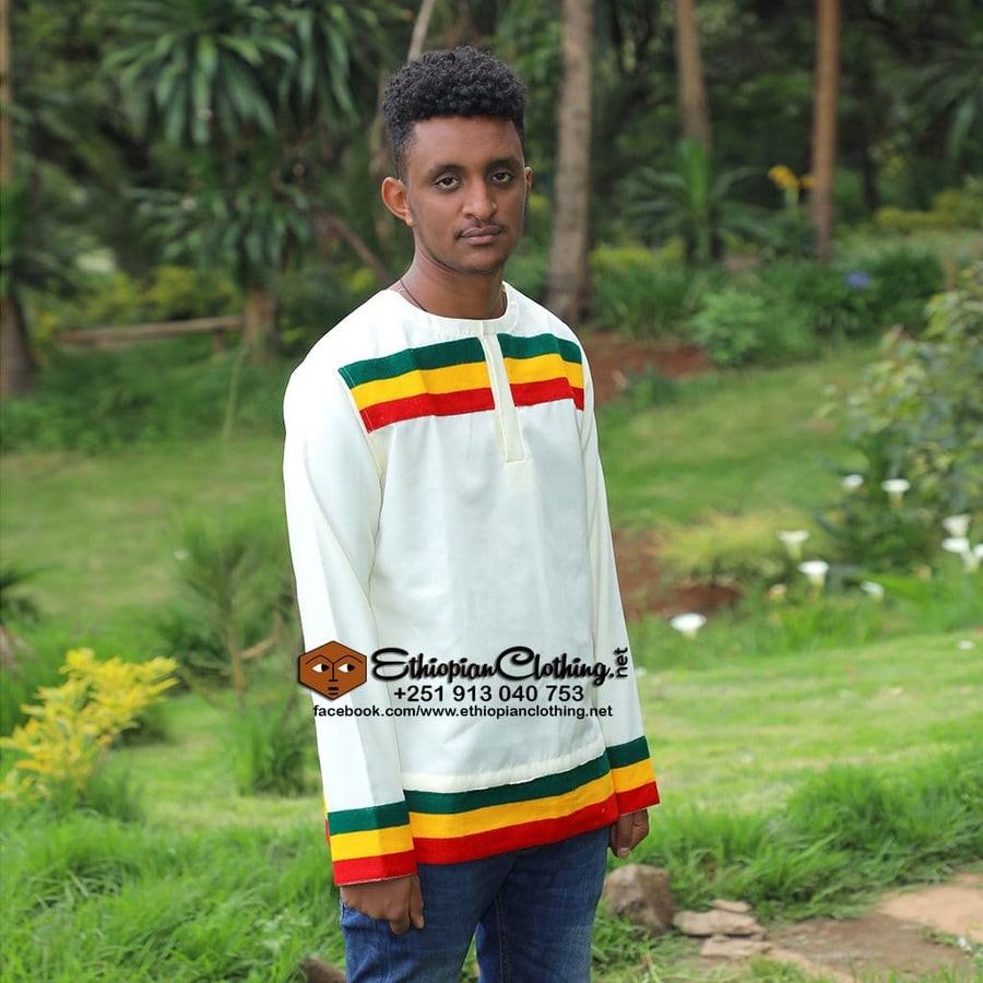 Aman Ethiopian men tshirt tshirt Ethiopian men tshirts ethiopian traditional cloth habesha men fashion habesha mens cultural clothing