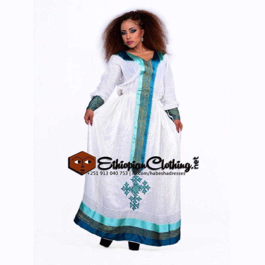 Ambo menen XXL Eritrean dresses Ethiopian traditional dress Habesha dress Menen fabric