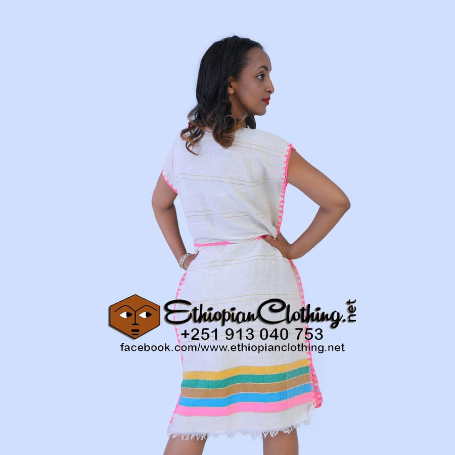 Chuchu Traditional dress Eritrean fashion zuria Ethiopian fashion cloth habesha fashion dress made in ethiopia
