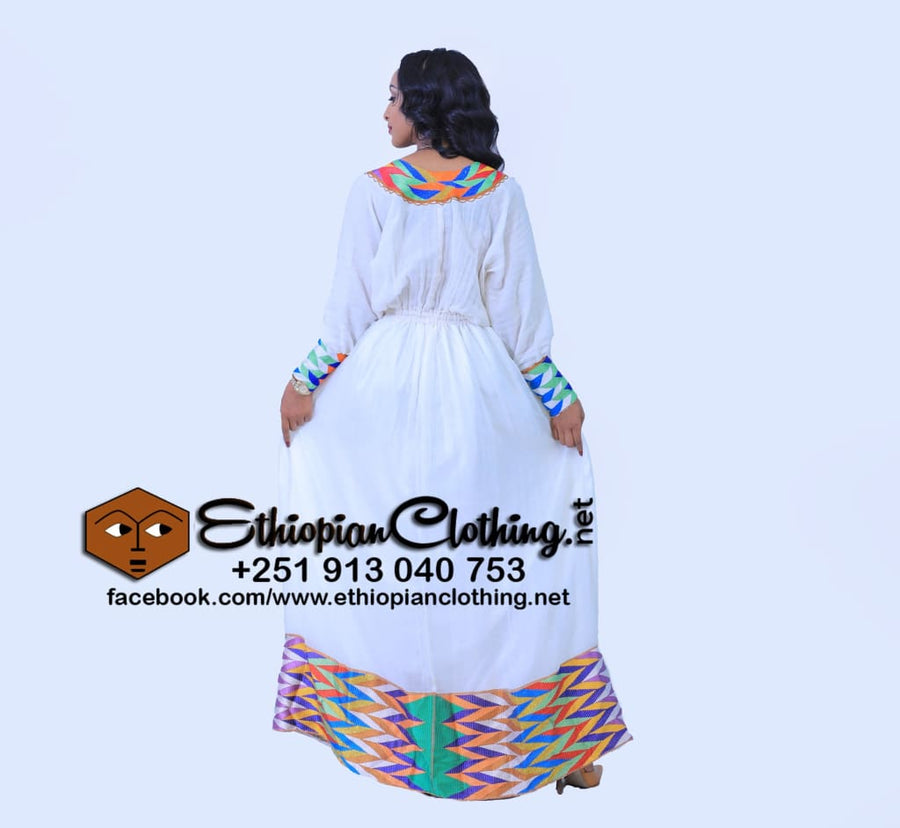 Danat Habesha Dress Habesha Dress Ethiopian Clothing Ethiopian Dress New Fashion Habesha Kemis