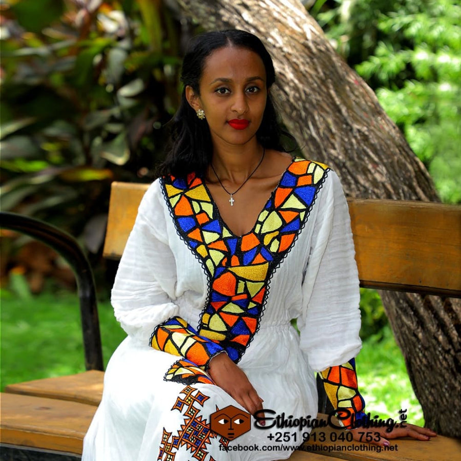 Dehab habesha dress - EthiopianClothing.Net