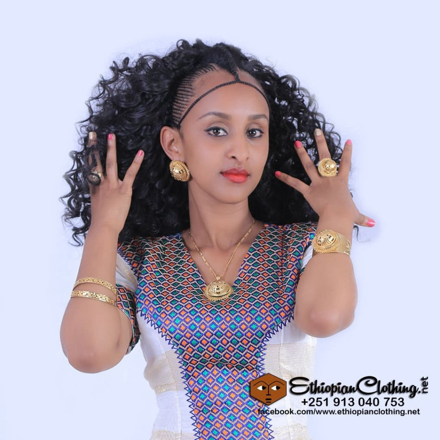 Elda Ethiopian wedding dress Traditional dress eritrean habesha wedding dress ethiopian habesha wedding dress ethiopian wedding dress
