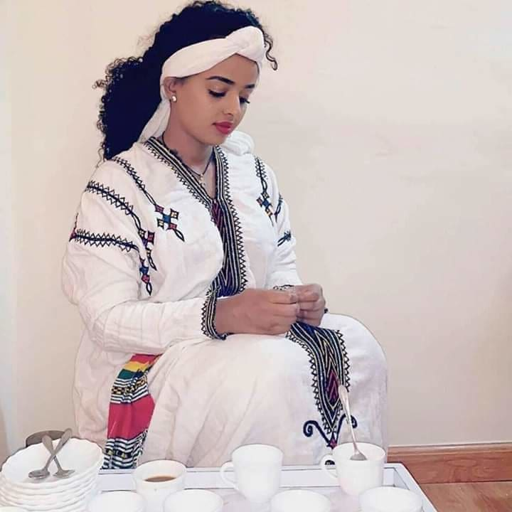 Ethiopian ethnic traditional Gondar dress Ethiopian cultural dress Ethiopian traditional clothing Habesha dress Habesha dresses