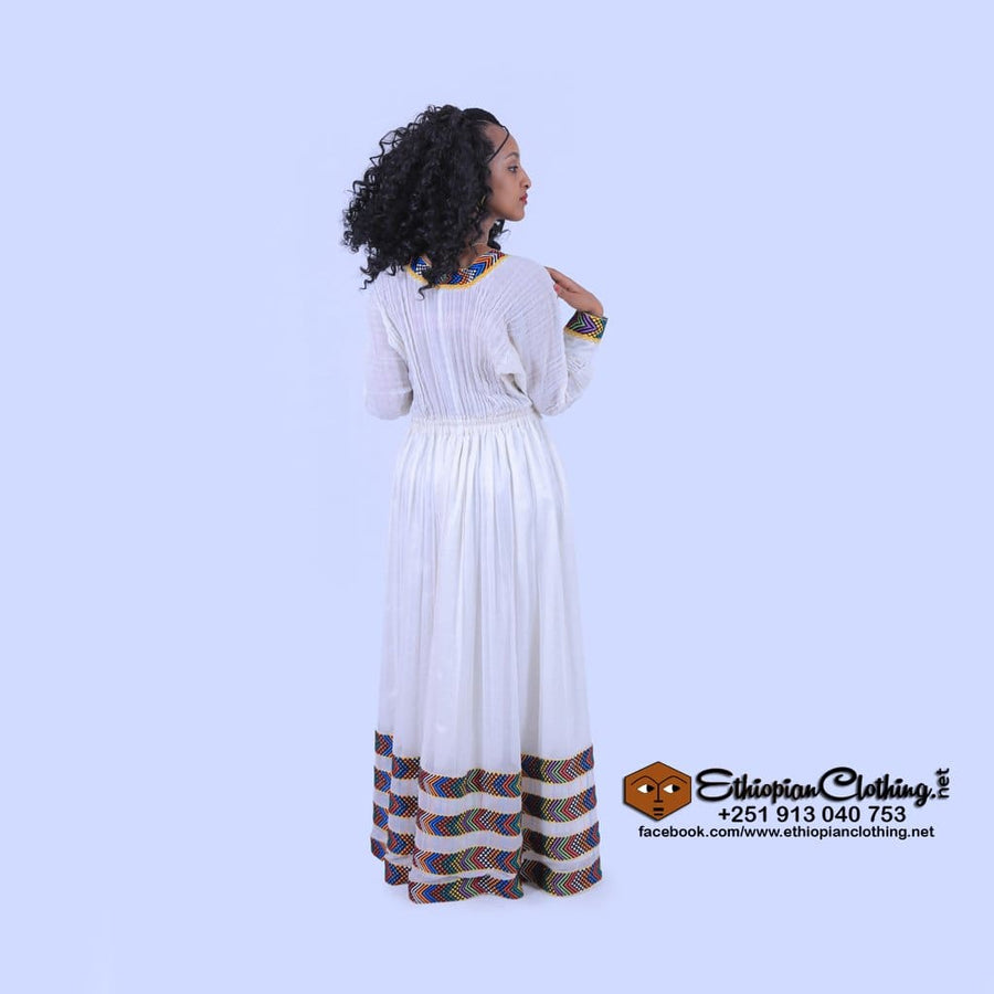 Genet Ethiopian Church Dress Traditional dress Eritrean church zuria Ethiopian church clothes new habesha church dress