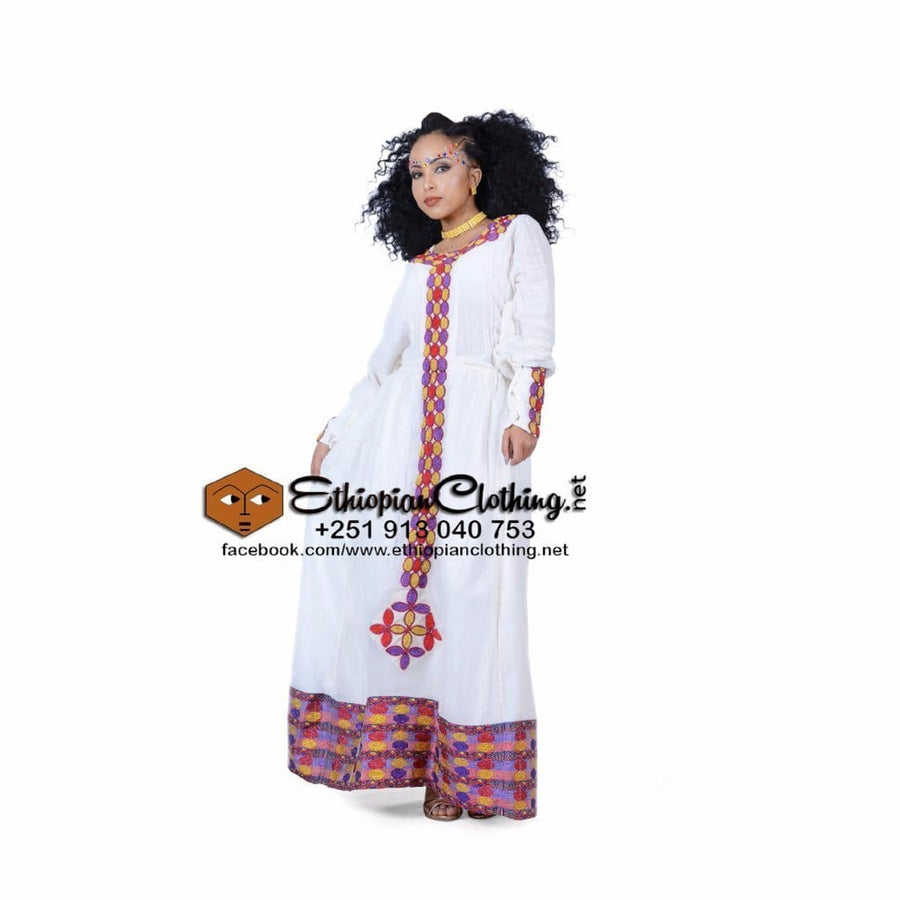 Gimbi Ethiopian Dress XXL Eritrean dresses Ethiopian cultural dress Ethiopian traditional clothes Habesha dress Habesha dresses