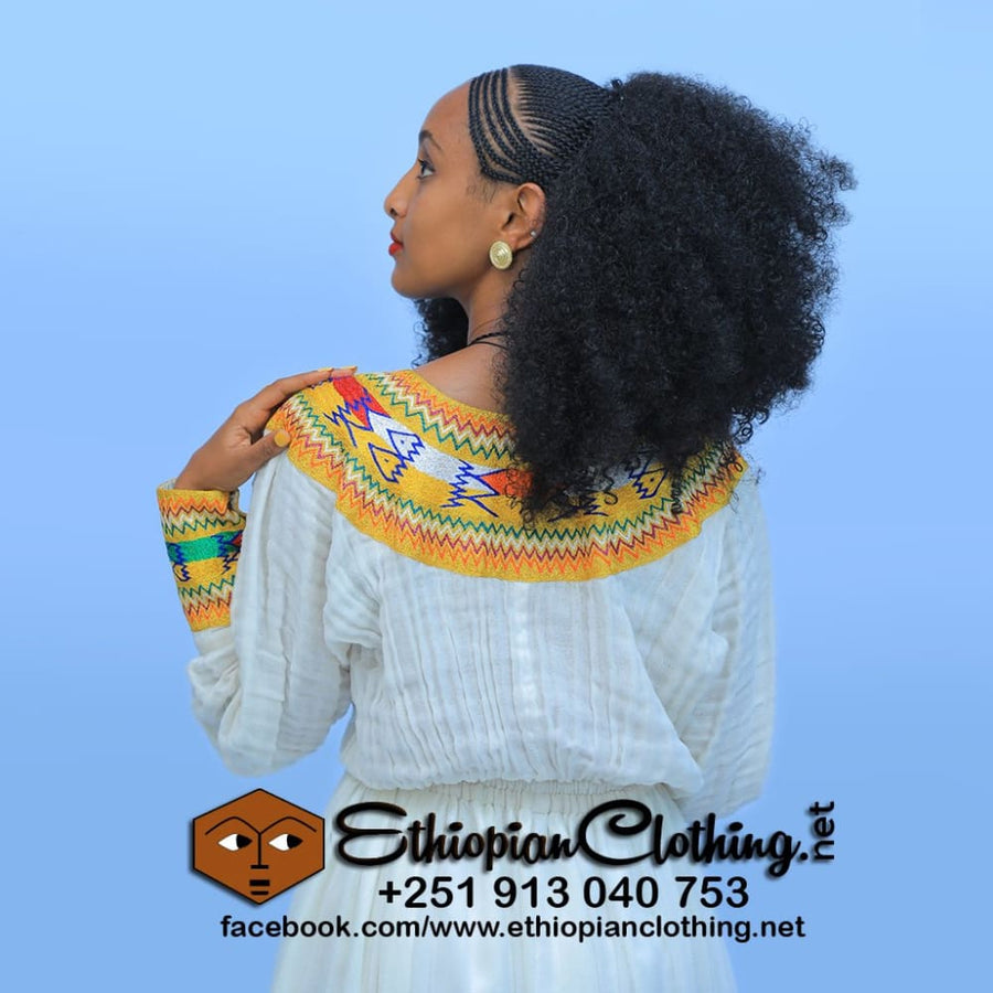 Jegol Ethiopian Dress Habesha dress Eritrean dresses Ethiopian cultural dress Ethiopian traditional clothing Habesha dresses