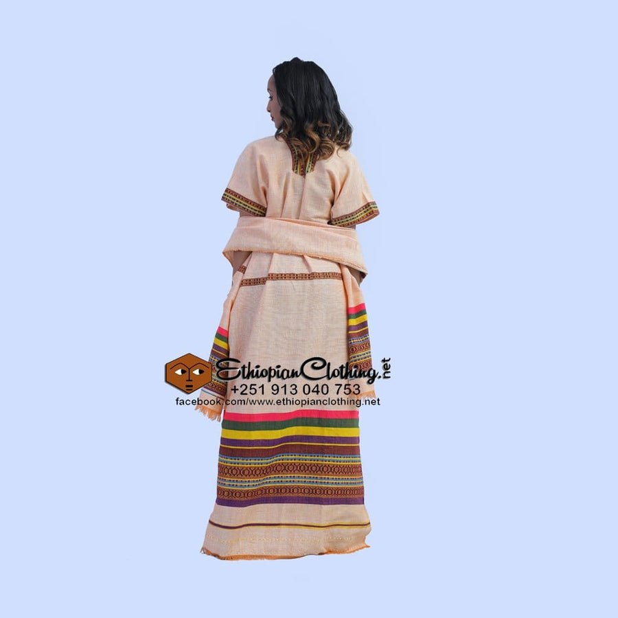 Jima Coffee Dress Habesha Dress Eritrean Dresses Ethiopian Coffee Dress Ethiopian Traditional Clothes Ye Buna Kemis