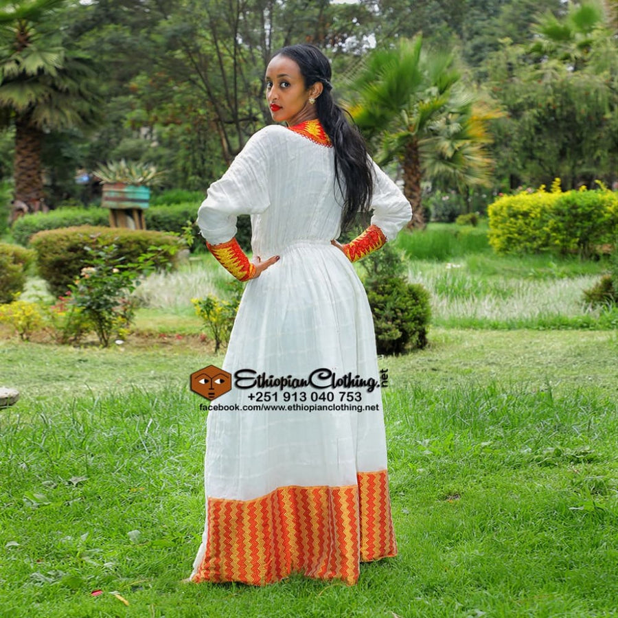 Konjo Ethiopian traditional cloth Habesha dress Eritrean wedding dress habesha weddin dress traditional ethiopian wedding dresses