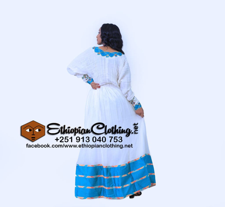 Konta Habesha Dress Habesha Dress Eritrean Dresses Ethiopian Cultural Dress Zuria Clothing