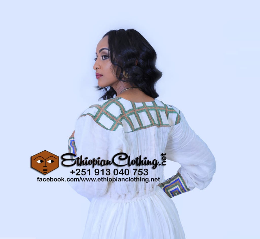 Lula Habesha Dress Habesha Dress Eritrean Clothing Habesha Kemis Zuria Clothing