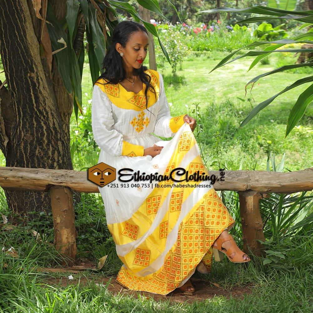 Ethiopian Cultural Clothing - African Traditional Clothing