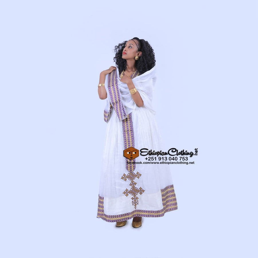 Merry Ethiopian Clothing Dress Eritrean wedding dress Ethiopian cultural dress Ethiopian dresses for wedding Ethiopian traditional clothing