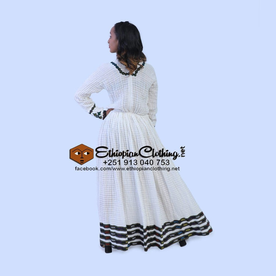 Meskel Habesha Kemis Traditional dress eritrean zuira ethiopian traditional dress habesha kemis