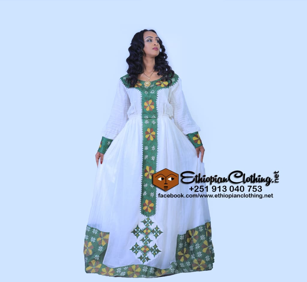 77326e30579 Naomi Habesha Kemis Habesha Dress Eritrean Clothing Ethiopian Clothing  Ethiopian Traditional Clothes Habesha Dress Tilfi Habesha