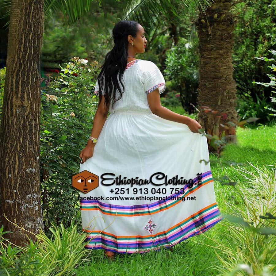 Nyala Traditional Ethiopian Clothing Habesha dress ethiopian clothing Ethiopian traditional clothes Habesha dress