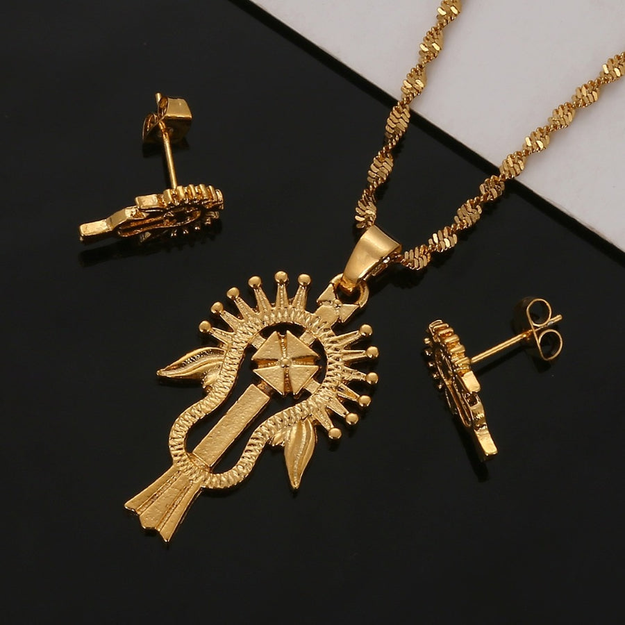 Habesha Coptic cross jewelry - EthiopianClothing.Net