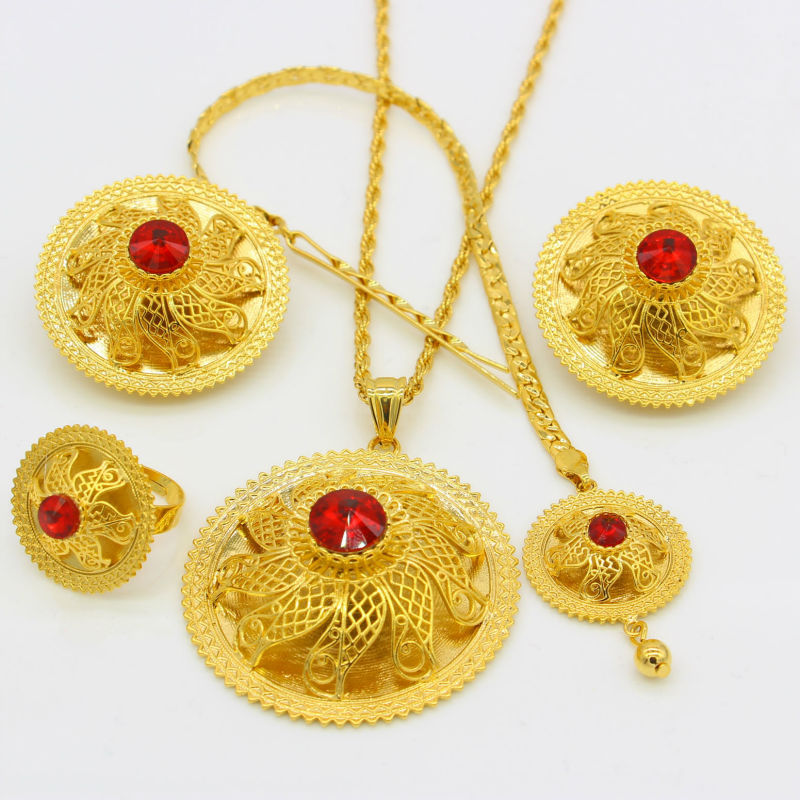 Ethiopian Wedding Jewelry Sets - EthiopianClothing.Net