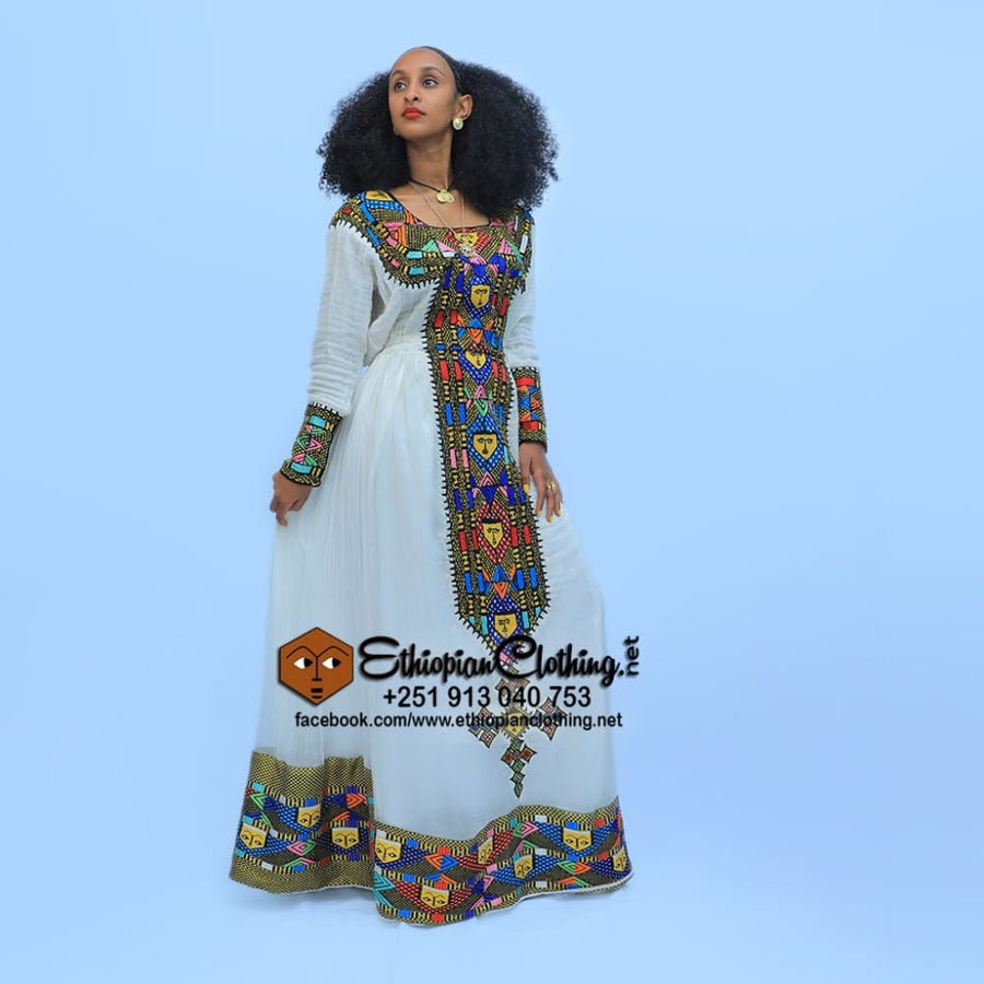 Queen of Sheba Traditional dress - EthiopianClothing.Net