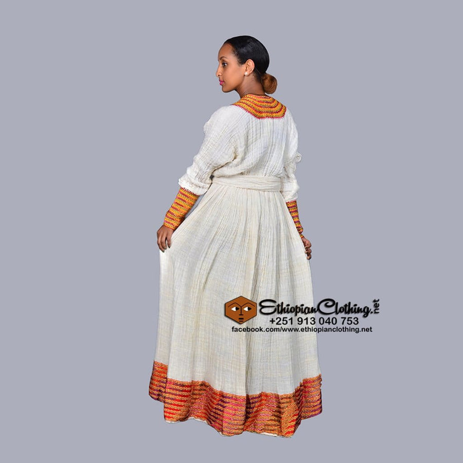 Sarem Axum telfi Traditional dress Axum telfi eritrean clothing zuria Ethiopian cultural dress Habesha dress