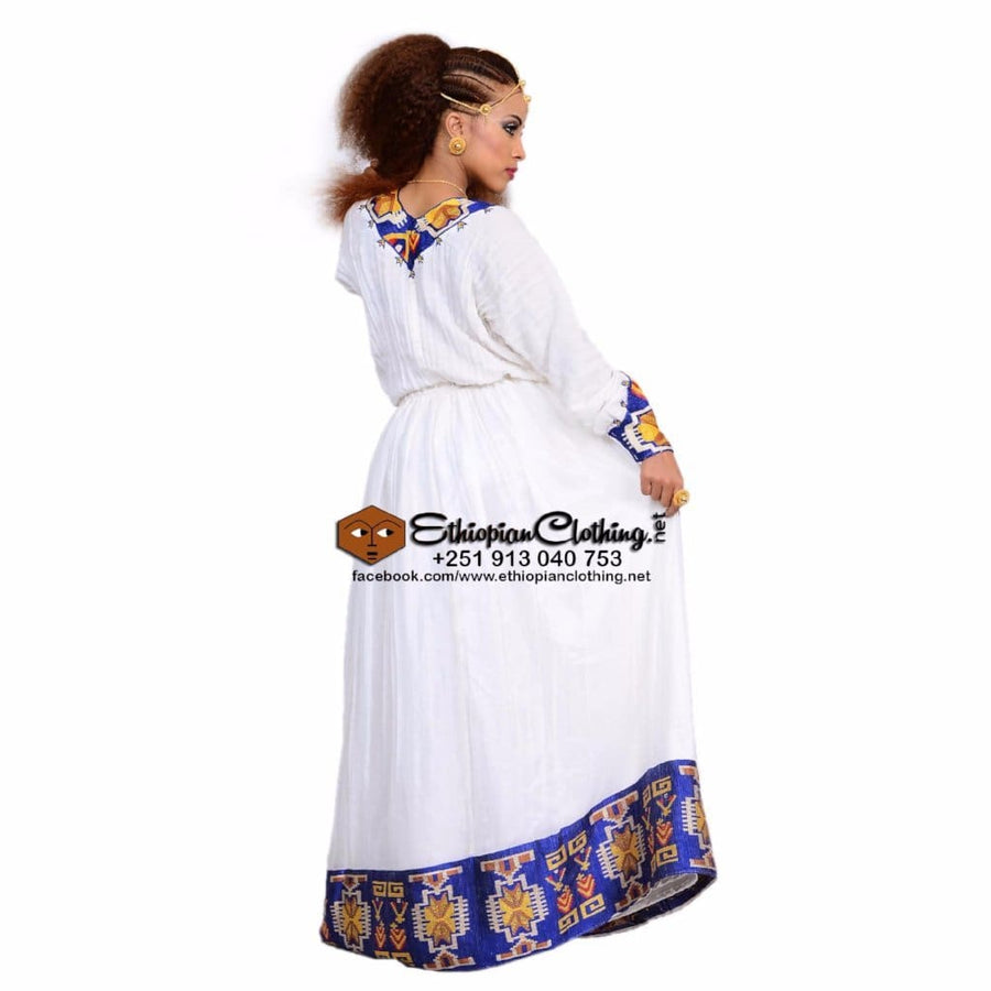 Selam Menen Telf XXL Eritrean dresses Ethiopian traditional clothing Habesha dresses