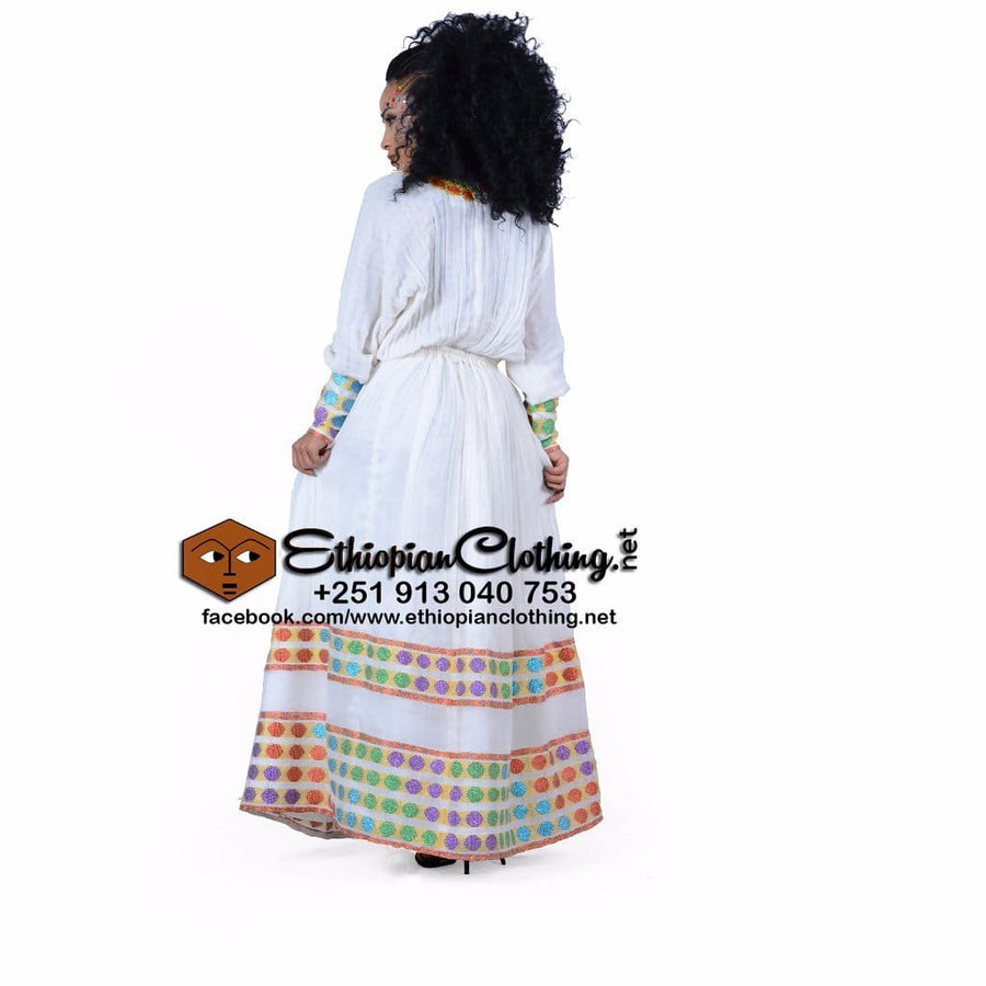 Shire Ethiopian Cultural Cloth XXL Eritrean dresses Ethiopian cultural dress Ethiopian fashion dress Habesha Libs