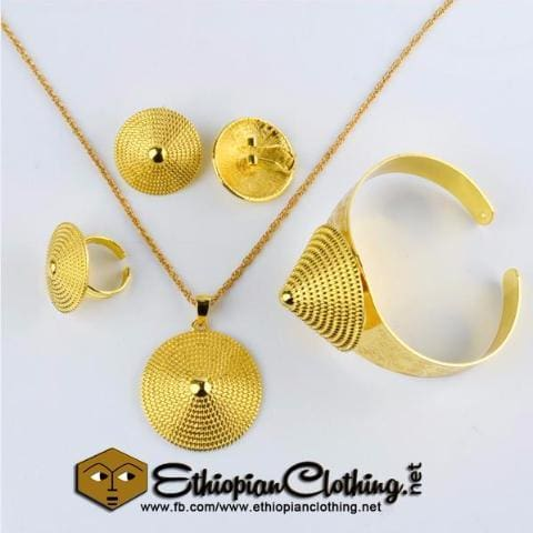 Trendy Bridal Habesha Wedding Jewelry Set Jewelry