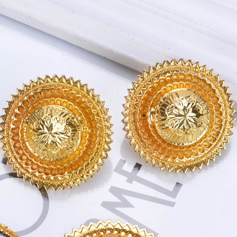 Trendy Habesha Style Bridal Jewelry Sets Jewelry African Wedding Jewelry Eritrean Wedding Jewelry Set Ethiopian Gold Jewelry