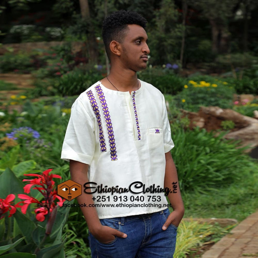 yohannes Ethiopian cloth tshirt Eritrean men cloth Ethiopian men tshirts Habesha men fashion