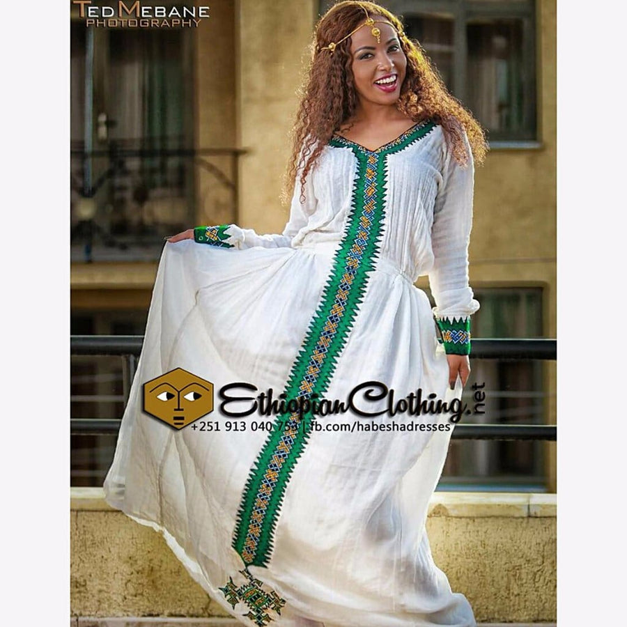 Zebib Ethiopian Clothing XXL Eritrean dresses Ethiopian traditional clothing Habesha dresses