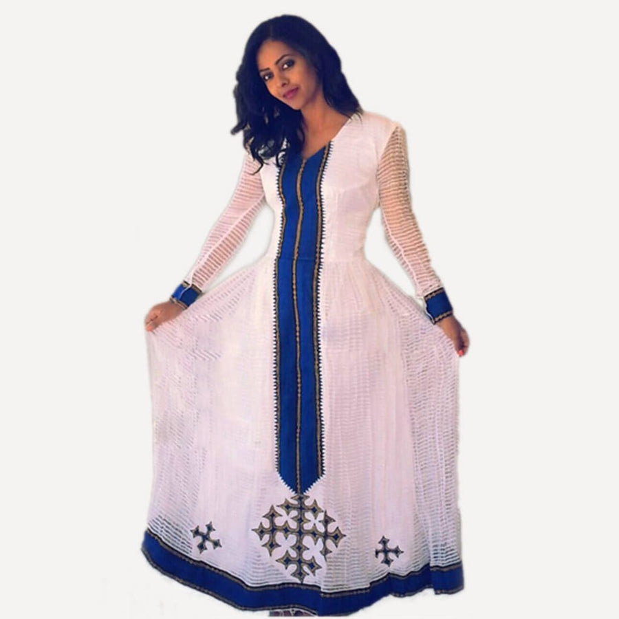 Zerzer doka kemis Eritrean dresses Ethiopian cultural dress Ethiopian traditional clothing zerzer