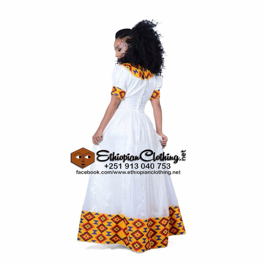 Ziway Ethiopian Cloth XXL Eritrean wedding dress Ethiopian cultural dress Ethiopian wedding dresses habeha wedding dress Habesha Libs