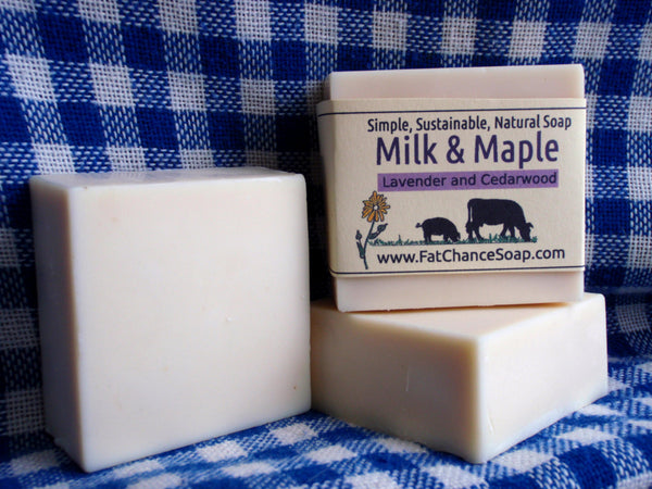 Pre-Order: Milk and Maple Soap - Lavender and Cedarwood