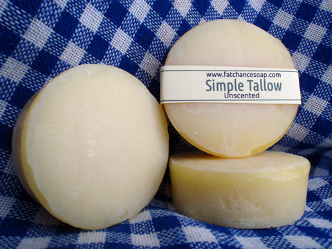 Simple Tallow Soap