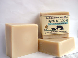 Cooling Haymaker's Peppermint Soap